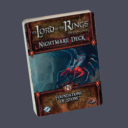 "Lord Of The Rings LCG: ""Foundation Of Stone"" Nightmare Deck - Boardlandia"