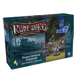 Runewars Miniatures Game: Daqan Infantry Command Expansion Pack - Boardlandia