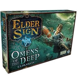 "Elder Sign: ""Omens Of The Deep"" Expansion - Boardlandia"