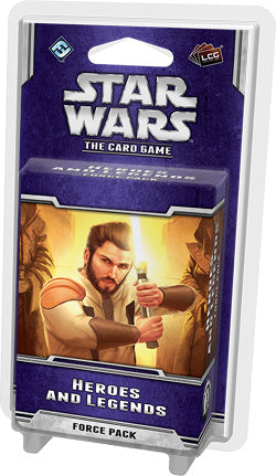"Star Wars - LCG: ""Heroes & Legends"" Force Pack - Boardlandia"