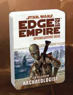 "Star Wars - ""Edge Of The Empire"" Rpg: Archaeologist Specialization Deck - Boardlandia"