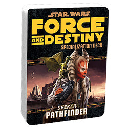 "Star Wars - ""Force And Destiny"" Rpg: Pathfinder Specialization Deck - Boardlandia"