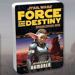 "Star Wars - ""Force And Destiny"" Rpg: ""Armorer"" Guardian Specialization Deck - Boardlandia"