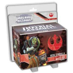"Star Wars Imperial Assault: ""Hera Syndulla And C1-10P"" Ally Pack - Boardlandia"