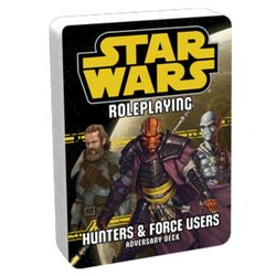 "Star Wars - Role Playing Game: ""Hunters And Force Users"" Adversary Deck - Boardlandia"