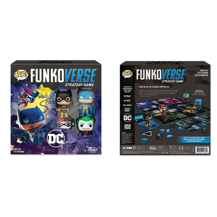 Funkoverse: DC Comics 100 Base Set