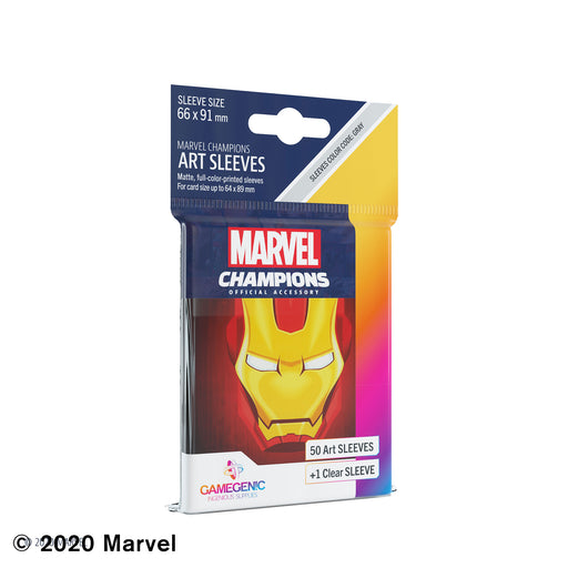 Marvel Champions Art Sleeves: Iron Man