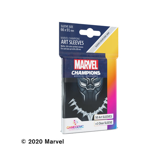Marvel Champions Art Sleeves: Black Panther