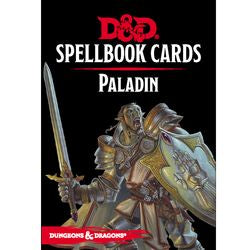 Dungeons & Dragons - Spellbook Cards - Paladin