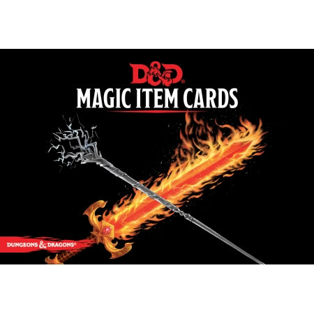 Dungeon and Dragons - Magic Item Cards
