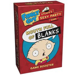 Family Guy: Stewie's Sexy Party Game - Mouth Full Of Blanks - Boardlandia