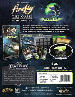 Firefly: The Game - Jetwash Game Booster - Boardlandia