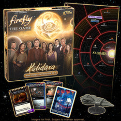 Firefly: The Game - Kalidasa, Rim Space Expansion - Boardlandia