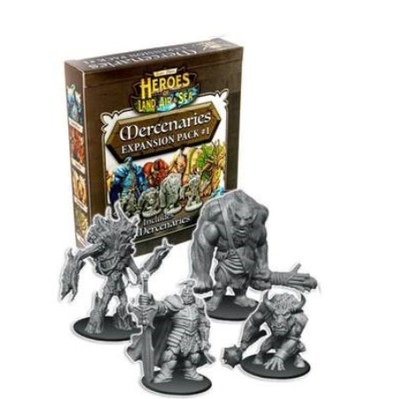 Heroes of Land, Air & Sea: Mercenaries - Pack 1