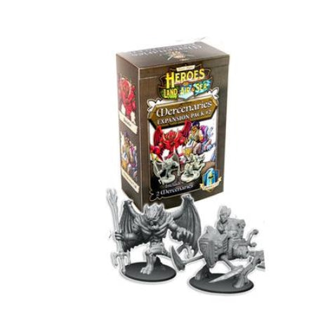Heroes of Land, Air & Sea: Mercenaries - Pack 2