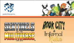 "Sentinels Of The Multiverse: ""Rook City/Infernal Relics"" Expansion - Boardlandia"
