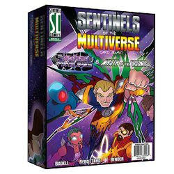 "Sentinels Of The Multiverse: ""Shattered Timelines"" And ""Wrath Of The Cosmos"" Combined Set - Boardlandia"