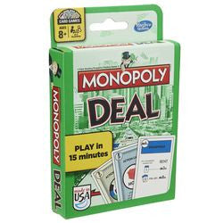 Monopoly Deal Card Game - Boardlandia