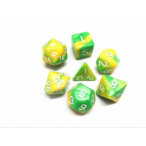 7 Die Set - (Green+Yellow) Blend Color