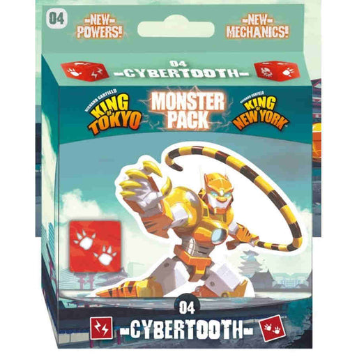King of Tokyo - Cybertooth Monster Pack (Pre-Order)