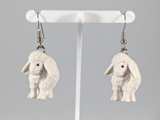 Catan Earrings: Sheep