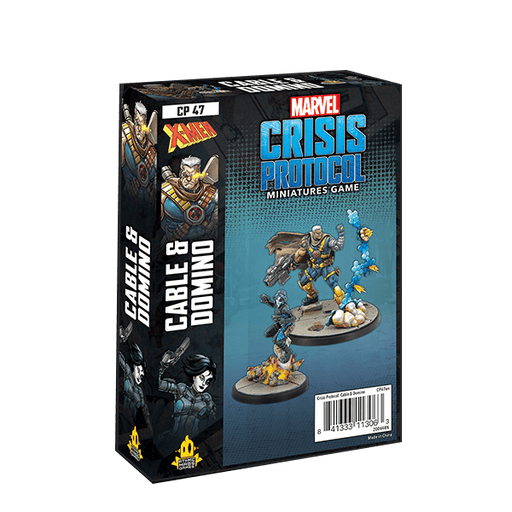 Marvel Crisis Protocol: Cable and Domino (Pre-order)
