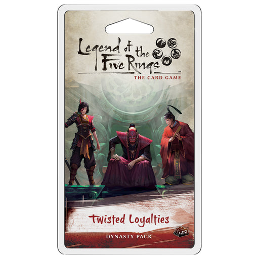 Legend of the Five Rings LCG: Twisted Loyalties Dynasty Pack (Pre-Order)