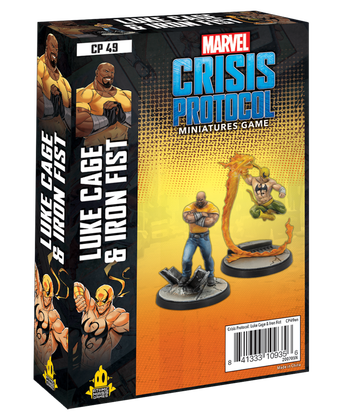 Marvel Crisis Protocol: Luke Cage and Iron Fist (Pre-order)