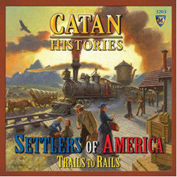 Catan Histories - Settlers of America - Trails to Rails - Boardlandia