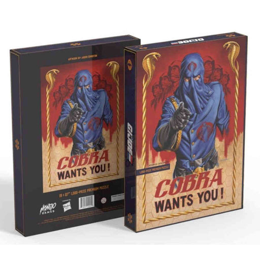 G.I. Joe: Cobra Wants You! (1000 Piece) (Pre-Order)