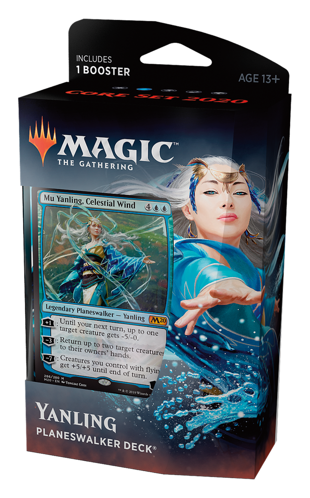 Magic the Gathering: Core 2020 Yanling Planeswalker Deck