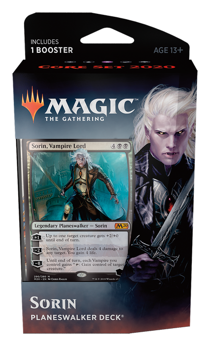 Magic the Gathering: Core 2020 Sorin Planeswalker Deck