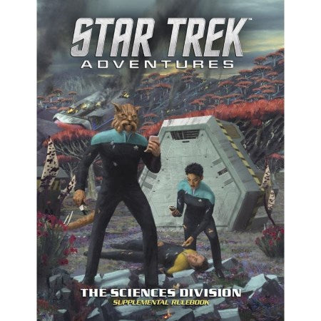 Star Trek Adventures RPG: Sciences Division Supplemental Rulebook