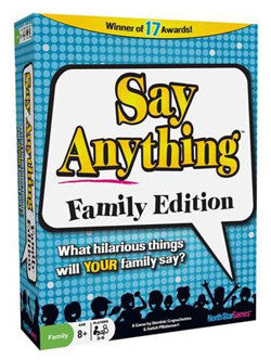Say Anything Family Edition - Boardlandia