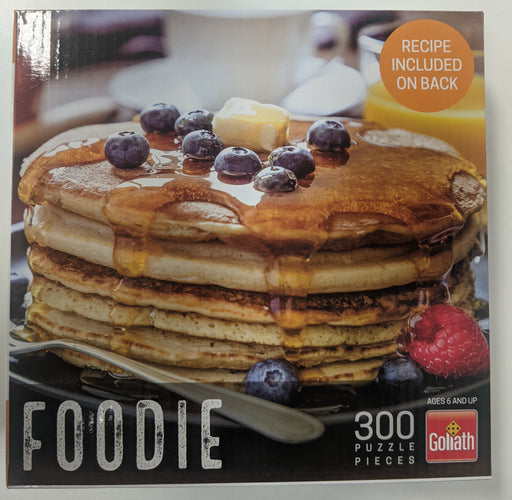 Foodie Ast: Blueberry and Raspberry Pancakes (300 pc)