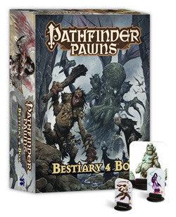 Pathfinder Rpg: Bestiary 4 - Pawns Collection - Boardlandia