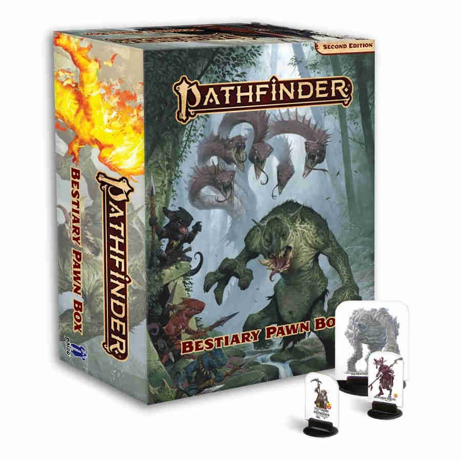 Pathfinder RPG - Second Edition: Bestiary Pawn Box