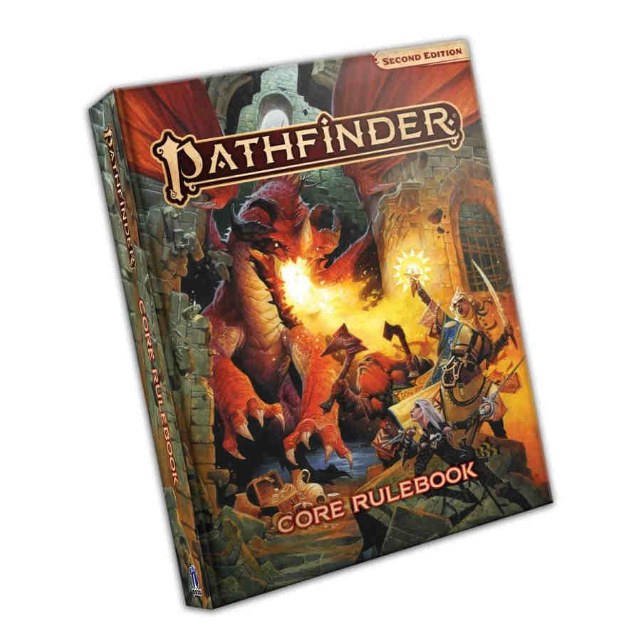 Pathfinder RPG (2nd Edition): Core Rulebook - Standard Edition