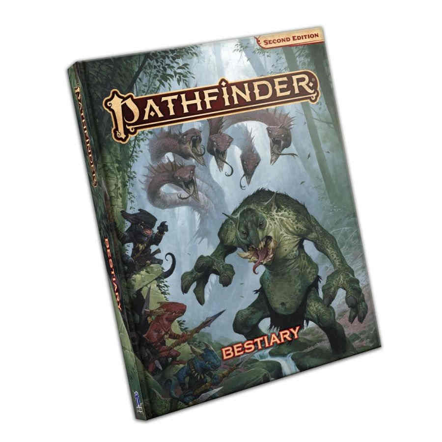 Pathfinder RPG (2nd Edition): Bestiary - Standard Edition
