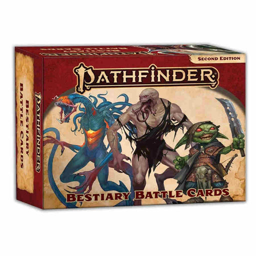 Pathfinder RPG: Second Edition - Bestiary Battle Cards