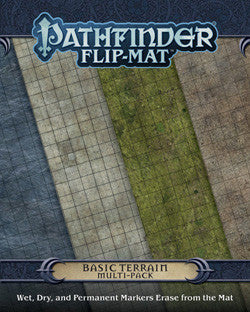 "PATHFINDER RPG: FLIP-MAT - ""BASIC TERRAIN"" MULTI-PACK - Boardlandia"