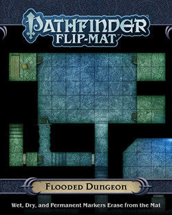 PATHFINDER RPG: FLIP-MAT - FLOODED DUNGEON