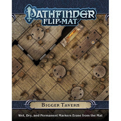 "Pathfinder Rpg: Flip-Mat - ""Bigger Tavern"""