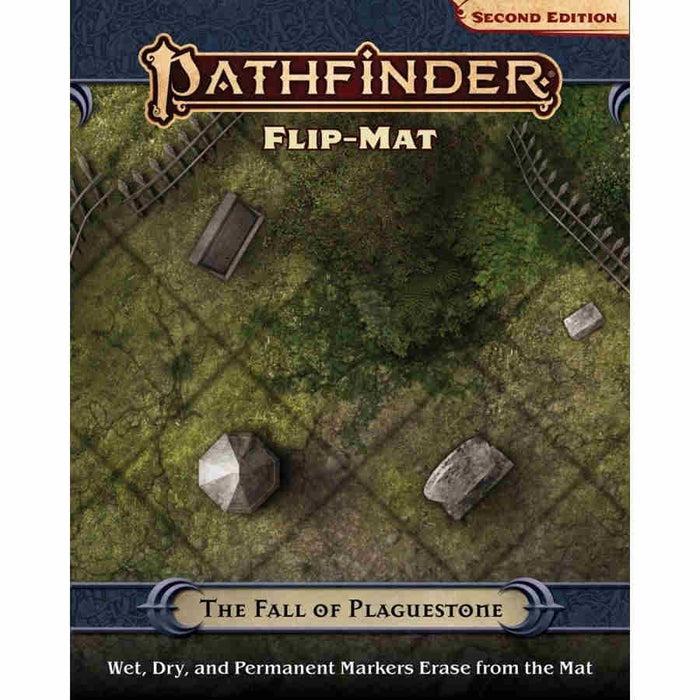 Pathfinder RPG - Second Edition: Flip-Mat - The Fall of Plaguestone