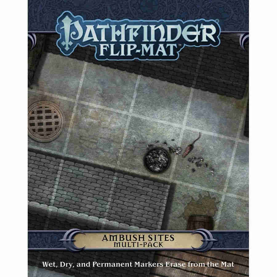 Pathfinder Flip-Mat: Ambush Multi-Pack