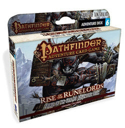 "Pathfinder Adventure Card Game: ""Spires Of Xin-Shalast"" Rise Of The Runelords (Deck 6) - Boardlandia"