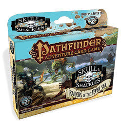"Pathfinder Adventure Card Game: ""Raiders Of The Fever Sea"" Skull And Shackles (Deck 2) - Boardlandia"