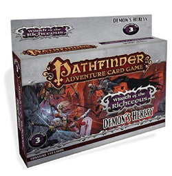 "Pathfinder Adventure Card Game: ""Demon's Heresy"" Wrath Of The Righteous (Deck 3) - Boardlandia"