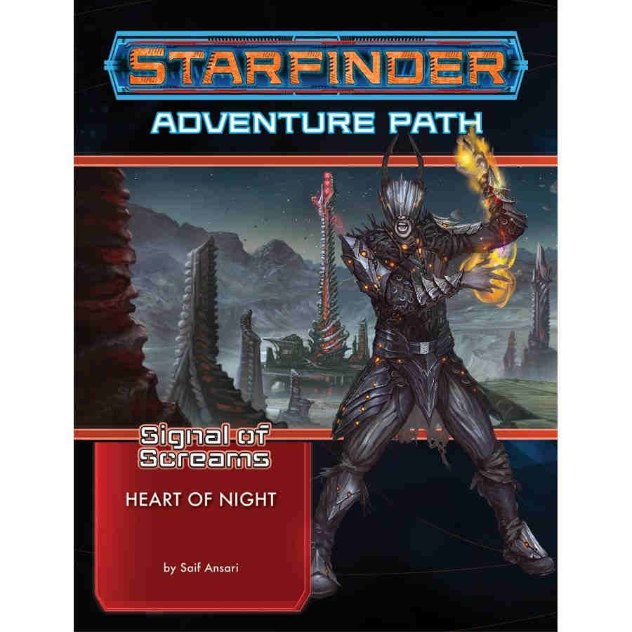 Starfinder RPG: Adventure Path - Heart of the Night (Signal of Screams 3 of 3)