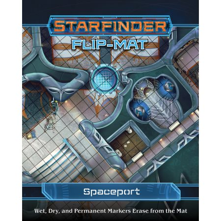 Starfinder RPG: Flip-Mat - Spaceport